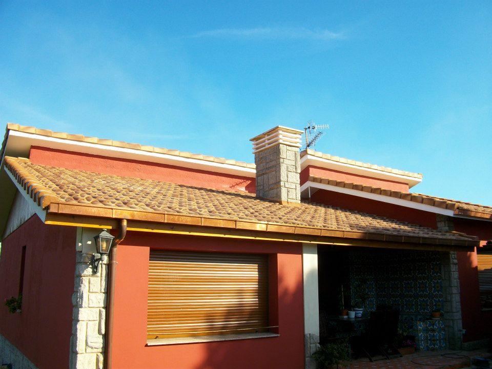 tejados On tejados con terraza